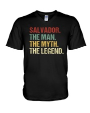 THE LEGEND - Salvador V-Neck T-Shirt thumbnail