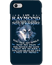 Raymond - You dont know my story Phone Case thumbnail