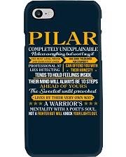 PILAR - COMPLETELY UNEXPLAINABLE Phone Case thumbnail