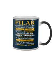 PILAR - COMPLETELY UNEXPLAINABLE Color Changing Mug thumbnail