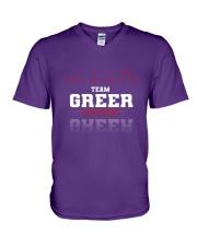 GREER - Team DS02 V-Neck T-Shirt thumbnail