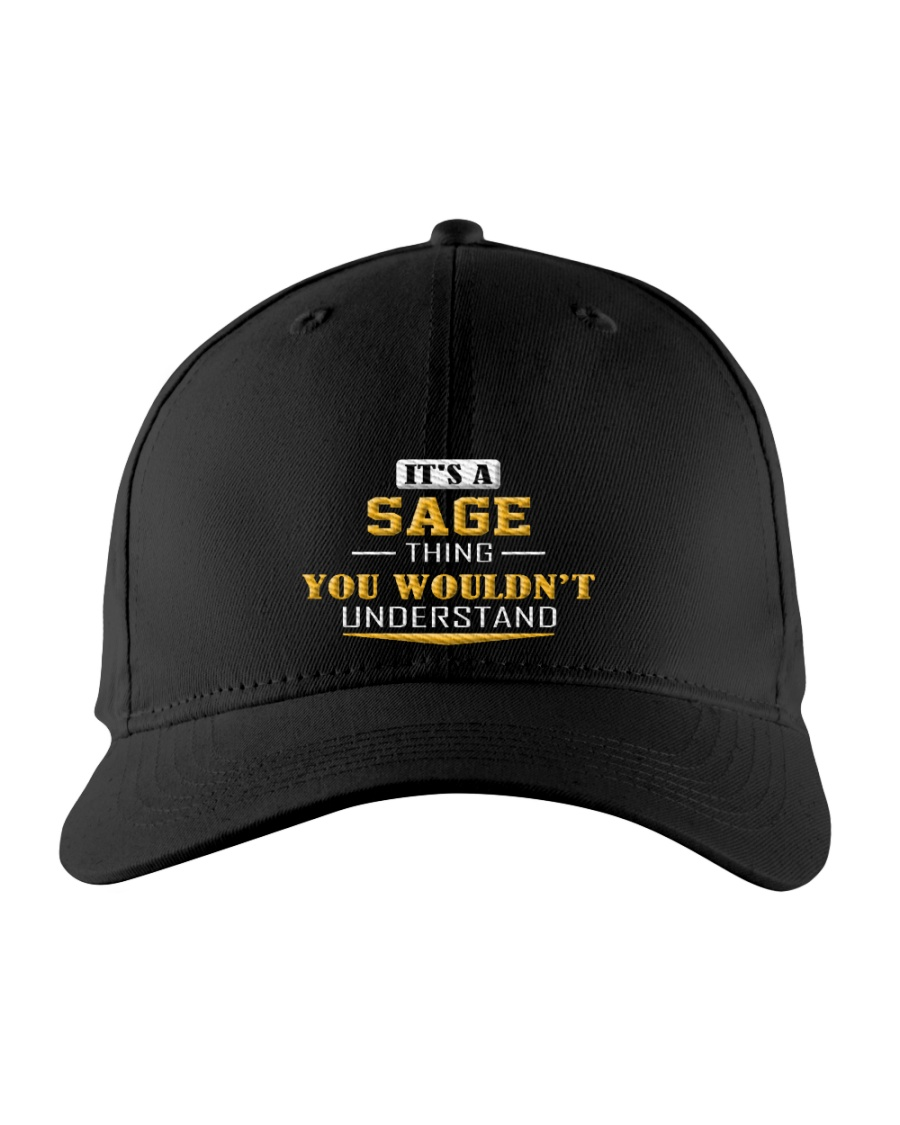 SAGE - THING YOU WOULDNT UNDERSTAND Embroidered Hat