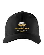 SAGE - THING YOU WOULDNT UNDERSTAND Embroidered Hat front