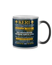KERI - COMPLETELY UNEXPLAINABLE Color Changing Mug thumbnail