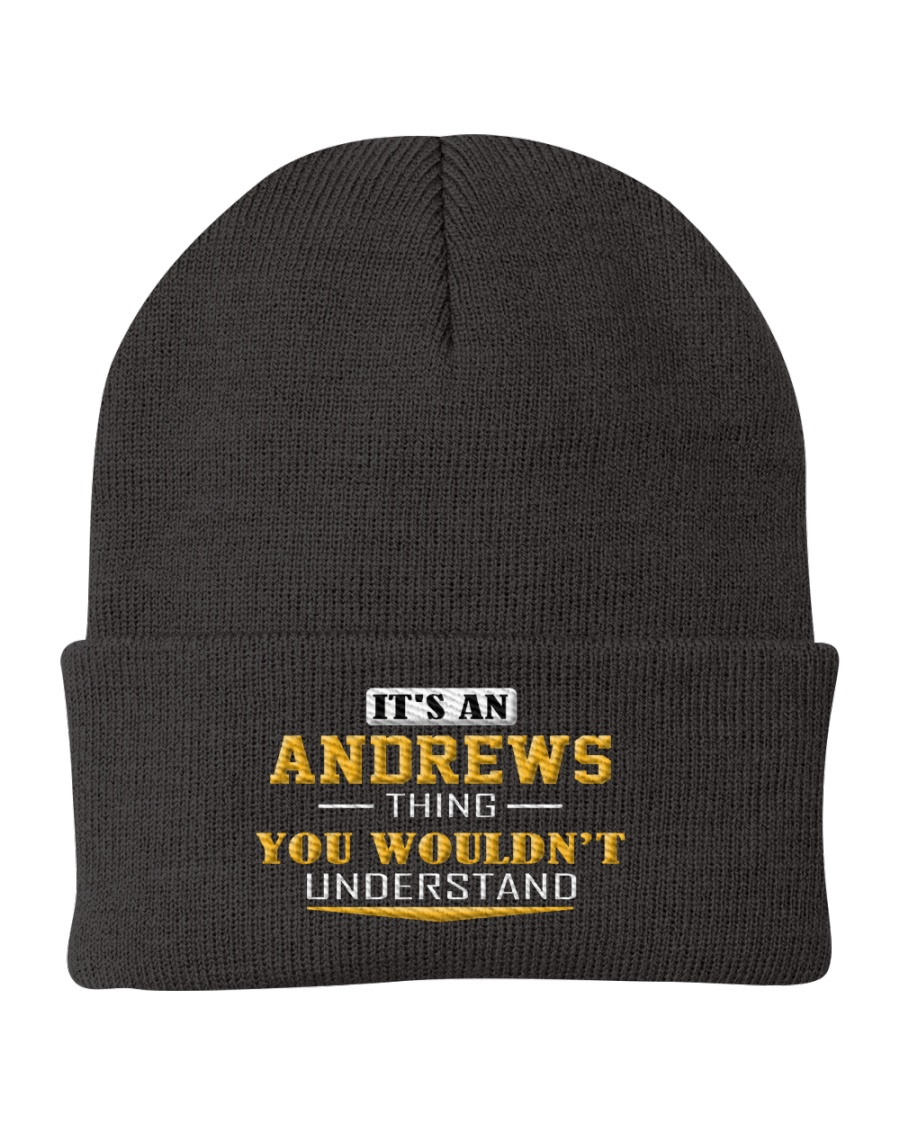 ANDREWS - Thing You Wouldnt Understand Knit Beanie