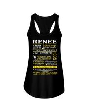 Renee - Sweet Heart And Warrior Ladies Flowy Tank thumbnail