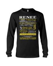 Renee - Sweet Heart And Warrior Long Sleeve Tee thumbnail