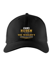 RUBEN - Thing You Wouldn't Understand Embroidered Hat front