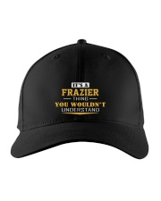 FRAZIER - Thing You Wouldnt Understand Embroidered Hat front