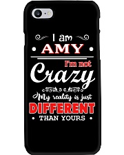 Amy - My reality is just different than yours Phone Case thumbnail