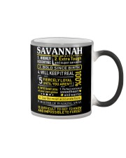 Savannah - Sweet Heart And Warrior Color Changing Mug thumbnail