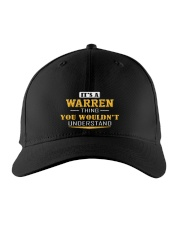 WARREN - THING YOU WOULDNT UNDERSTAND Embroidered Hat front