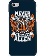 NEVER UNDERESTIMATE THE POWER OF ALLEN Phone Case thumbnail
