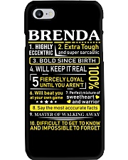 Brenda - Sweet Heart And Warrior Phone Case thumbnail