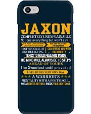 Jaxon - Completely Unexplainable Phone Case thumbnail