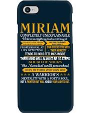 MIRIAM - COMPLETELY UNEXPLAINABLE Phone Case thumbnail