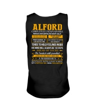 ALFORD - Completely Unexplainable Unisex Tank thumbnail