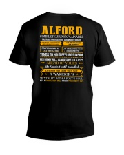 ALFORD - Completely Unexplainable V-Neck T-Shirt thumbnail