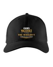 VAZQUEZ - Thing You Wouldnt Understand Embroidered Hat front