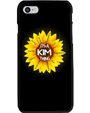 Its a Kim thing Phone Case tile