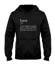 Love - Definition Hooded Sweatshirt thumbnail