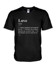 Love - Definition V-Neck T-Shirt thumbnail