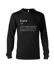 Love - Definition Long Sleeve Tee thumbnail