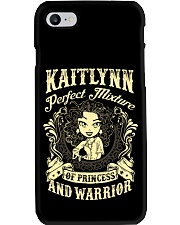 PRINCESS AND WARRIOR - Kaitlynn Phone Case thumbnail
