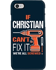 If Christian Cant Fix It - We Are All Screwed Phone Case thumbnail