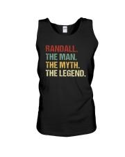 THE LEGEND - Randall Unisex Tank thumbnail