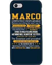Marco - Completely Unexplainable Phone Case thumbnail