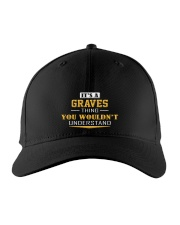 GRAVES - Thing You Wouldnt Understand Embroidered Hat front
