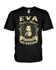PRINCESS AND WARRIOR - Eva V-Neck T-Shirt thumbnail
