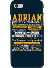 Adrian - Completely Unexplainable Phone Case thumbnail
