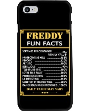 Freddy fun facts Phone Case tile