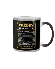 Freddy fun facts Color Changing Mug tile