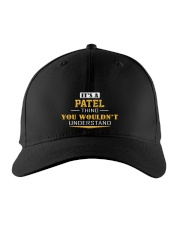 PATEL - Thing You Wouldn't Understand Embroidered Hat front