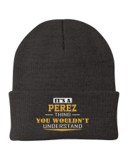 PEREZ - Thing You Wouldn't Understand Knit Beanie thumbnail