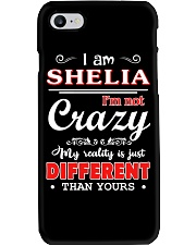 Shelia - My reality is just different than yours Phone Case thumbnail