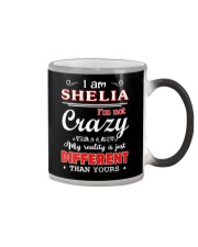 Shelia - My reality is just different than yours Color Changing Mug thumbnail