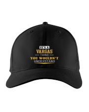 VARGAS - Thing You Wouldn't Understand Embroidered Hat front