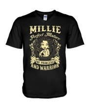 PRINCESS AND WARRIOR - Millie V-Neck T-Shirt thumbnail
