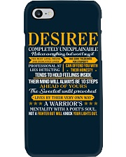 DESIREE - COMPLETELY UNEXPLAINABLE Phone Case thumbnail