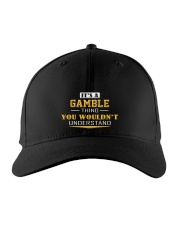 GAMBLE - Thing You Wouldnt Understand Embroidered Hat front