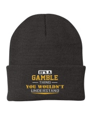 GAMBLE - Thing You Wouldnt Understand Knit Beanie thumbnail
