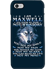 Maxwell - You dont know my story Phone Case thumbnail