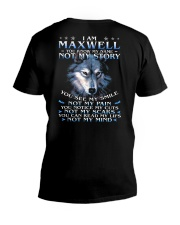 Maxwell - You dont know my story V-Neck T-Shirt thumbnail