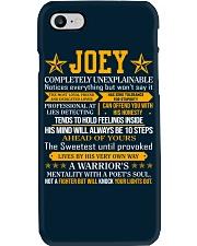 Joey - Completely Unexplainable Phone Case thumbnail