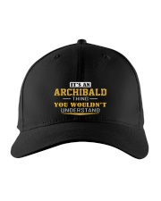 ARCHIBALD - THING YOU WOULDNT UNDERSTAND Embroidered Hat front