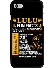 Lulu Fun Facts Phone Case thumbnail